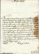 Autografo Arcivescovo Firenze F. Gaetano Incontri Donazione Compaesana Volterra