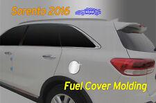 Chrome Fuel Gas Tank Cover Cap Garnish Molding B357 for KIA Sorento 2016 ~ 2017