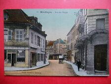 MONTUÇON  :  La Rue des Forges.