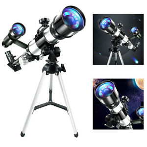 Portable 70mm Astronomical Reflector Telescope w/Compass for Adult Children