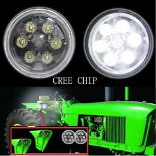 Pair 4.5 inch 18w round cree led work lights for John Deere's tractor