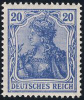 DR 1915, MiNr. 87 II c, tadellos postfrisch, gepr. Jäschke-Lantelme, Mi. 55,-