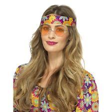 Hippie SPECIALI ANNI 60 Hippy rétro '60 Accessorio Vestito Donna Uomo Arancione