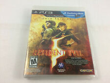 Playstation 3 (PS3) Resident Evil 5 Gold Edition - NEW/ SEALED, Free Ship -