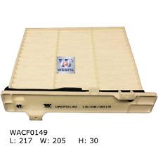 WESFIL CABIN AIR FILTER PAJERO 1999-2019 WACF0149