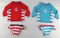 Nautica Girls' baby set, Two-Piece Anchor Swim Set sizes 12,18,24 months