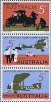 Australia Mint 1969 Single Stamps SET of 7x 5c Fourth Decimal Year Series Issues