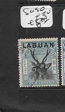 LABUAN (P0204B)  2C  DEER SG 90  VFU