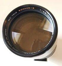 MINOLTA MC TELE ROKKOR-X 300mm F/4.5 MF Lens Excellent Plus X-700 XD SRT