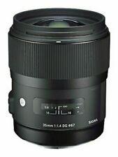 Sigma 35mm F1.4 Dg Hsm 'A' Art Lens in Pentax K Fit (Uk Stock) Bnib