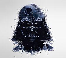 "Darth Vader Star Wars Game Fabric poster 16"" x 13"" Decor 02"
