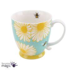 Busy Bee en Caja Té Café Taza Taza Hogar Regalo Daisy Print Bumble trabajador Porcelana