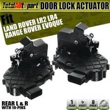 2x Door Lock Actuator Rear Left & Right for Land Rover LR2 LR3 LR4 Range Rover