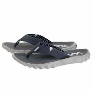 Womens Hey Dude Sava Flip-Flop Toe-Post Lightweight Funk Oceano Blue 3-8