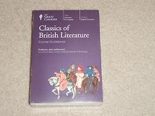 Teaching Company Great Courses Classics of British Literature NEW DVD