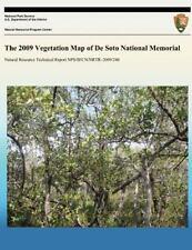 The 2009 Vegetation Map of de Soto National Memorial by National Park Service...
