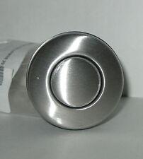 Insinkerator F247458 Sink Top Switch Body With Button Satin Nickel