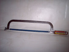 """HACKSAW 12"""" W/ WOODEN HADLE NEW  FREE S/H"""