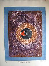 DI ROSA Hervé - Gravure carborundum etching signée numérotée Monumental 2002 **
