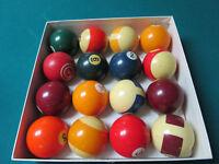 PROFESSIONAL POOL BALL SET BELGIUM BALLS