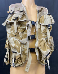 British Military Desert DPM Tactical Webbing Vest