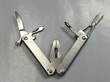 All Metal Multitool Pocket Knife With Pliers