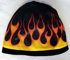 Beanie Flames Sublimated Design Knit Hat Cap #1023