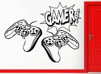 Wall Stickers Vinyl Decal Video Gamer Joysticks Playstation Decor (z2216)