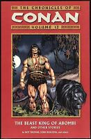 Dark Horse Chronicles of Conan Vol 12 Beast King Abombi Trade Paperback TPB New