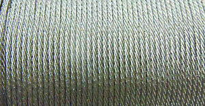46 LB, AFW MICRO ULTRA 19 STRAND 1X19 COATED-KNOTABLE-STAINLESS STEEL WIRE