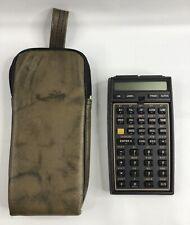 Hewlett Packard HP 41CV Calculator Stat & Financial Module & Case