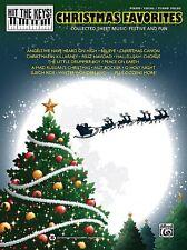Christmas Favorites Sheet Music Hit the Keys Series MIXED Book NEW 000322429