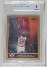 1990/91 Michael Jordan Bulls NBA Basketball Skybox Base Card #41 BGS 7 Near Mint