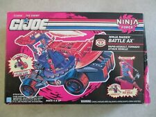 GI JOE NINJA FORCE NINJA RAIDER BATTLE AX IN BOX 1992 HASBRO