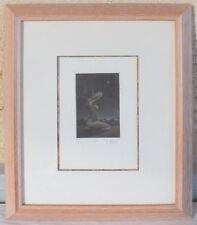 litho lithographie Michel Mothonnat numérotée 94/120 femme à genoux