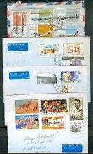 MALTA COMMERCIAL COVERS TO NEW ZEALAND x4 (ID:379/D26781)