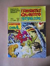 Raccolta SUPEREROI GIGANTE Fantastici Quattro n°6 1981 Edizioni Corno [G490]