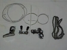 Simplex Groupset for Peugeot PX10 including new cable, housing and chain