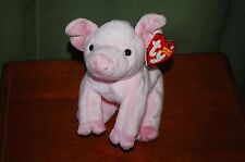 HAMLET the Pink PIG - Farm Animal - Ty Beanie Baby  - MWMT  -  Too Cute