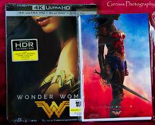 Wonder Woman 4K Best Buy Limited Edition Steelbook + 14 Bonus Art Cards *