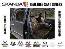 Neosupreme Premium Realtree Camo Custom Tailored Seat Covers for Ford F250