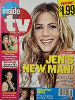 Inside TV June 2005 Gossip Magazine Jennifer Aniston - Paris Hilton Interview