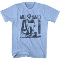 American Classics Muhammad Ali Victory T-Shirt - Light Blue Heather