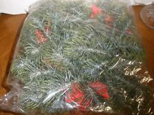 """New plastic greens bows berries pinecones candle holder 3"""" hole"""