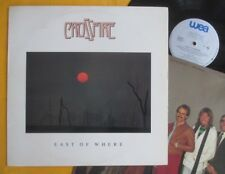 Crossfire (Aussie jazz/rock fusion) Lp + insert - East Of Where