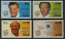 Niue  1990   Scott #   578-581     Mint Never Hinged Set