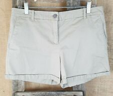 New York & Company womens 8 khaki shorts casual pants outdoor