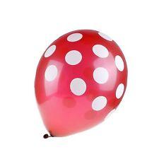 10, 30, 50 Optional Latex Polka Dot Balloons Party Wedding Holiday Decorating