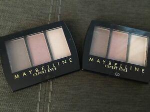 2 x Maybelline Expert Eyes Trio Eye Shadow - Crown Jewels -