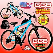 Complete Diy 2-Stroke 66Cc/80Cc Motorized Bike Kit With Mt Bicycle